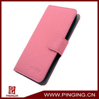 Leather flip cover case for htc desire 700 phone cases from competitive factory