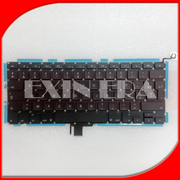 "Factory wholesale Keyboard FRANCAIS for APPLE Macbook Pro 13"" A1278 2009/2012 Clavier FR AZERTY Neuf"