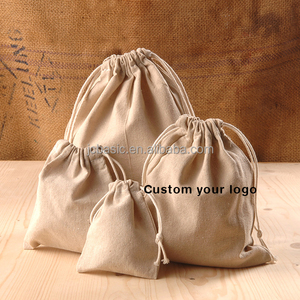 custom shoe handbag cotton drawstring dust bag for handbag