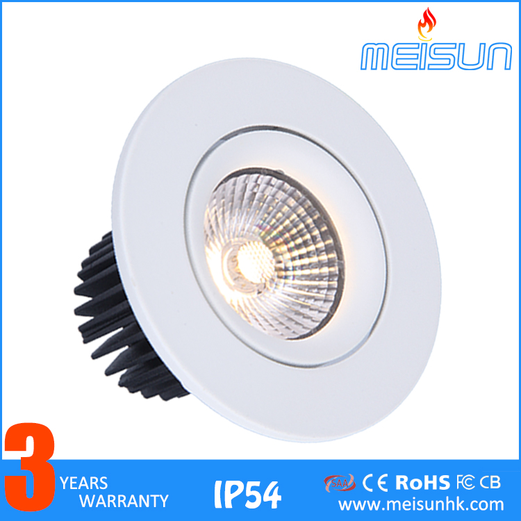 Facotry Cheap Price Ultra Slim IP54 High Lumen Recessed 3w 5w 7w 9w 13w Dimmable Led Light <strong>Downlight</strong>