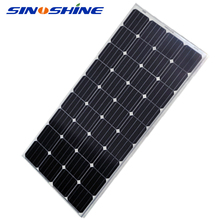 Best Price High Efficiency Hottest Selling monocrystalline solar panel 140w with Anodized Aluminium Alloy