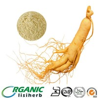 Organic korean red ginseng root extract powder