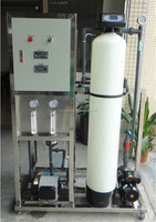250LPH Small water treatment reverse osmosis plant with UV system