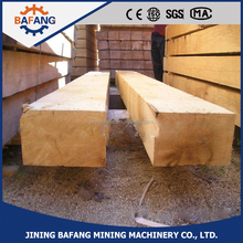 2016 Hot Selling Anti-corrosion Treated Railway Wooden Sleeper