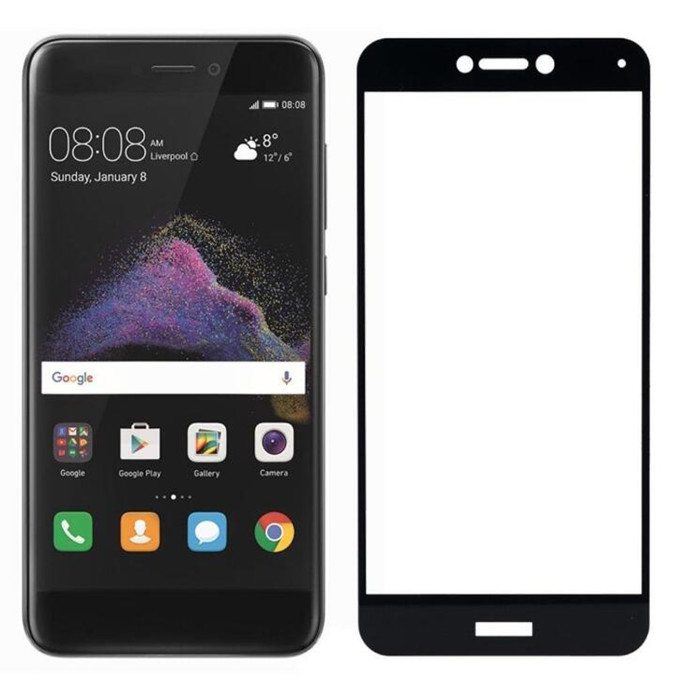 Wholesale 9H 2.5D Silk Printed Full Cover Tempered Glass Screen Protector for Huawei Honor Note <strong>10</strong>/9i/<strong>P</strong> Smart/Mate <strong>10</strong> lite
