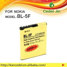 sell used cell phone gold batteries for NOKIA bl-5f