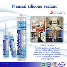 Neutral Silicone Sealant china supplier/ silicone sealant materials use for furniture/ roofing silicone sealant