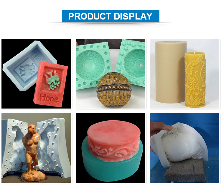 Sample available tin cured silicone manufacturers candle mold mould making rubber molding compound