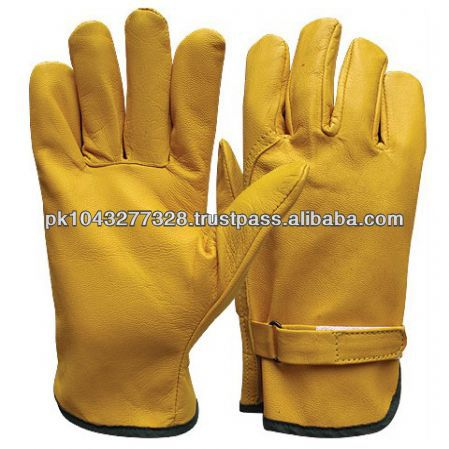 leather car driving gloves