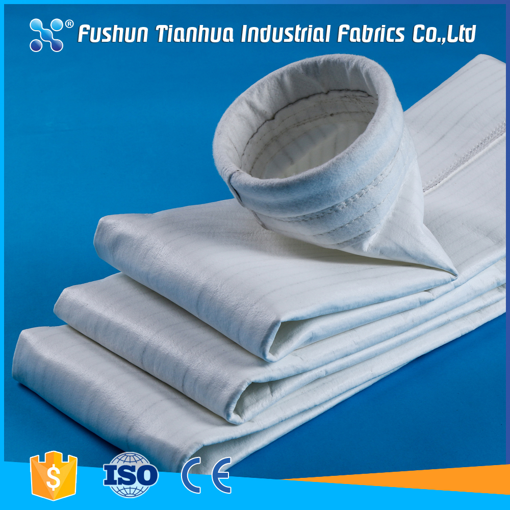 Anti-static fibre vacuum cleaner filter bag for pharmaceutical industry