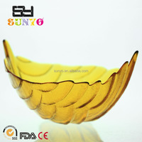 Wholesale Big Fruit Salad Glass Dishes for Decoration