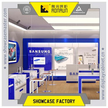Guangzhou made mobile phone shop interior design optical shop decoration