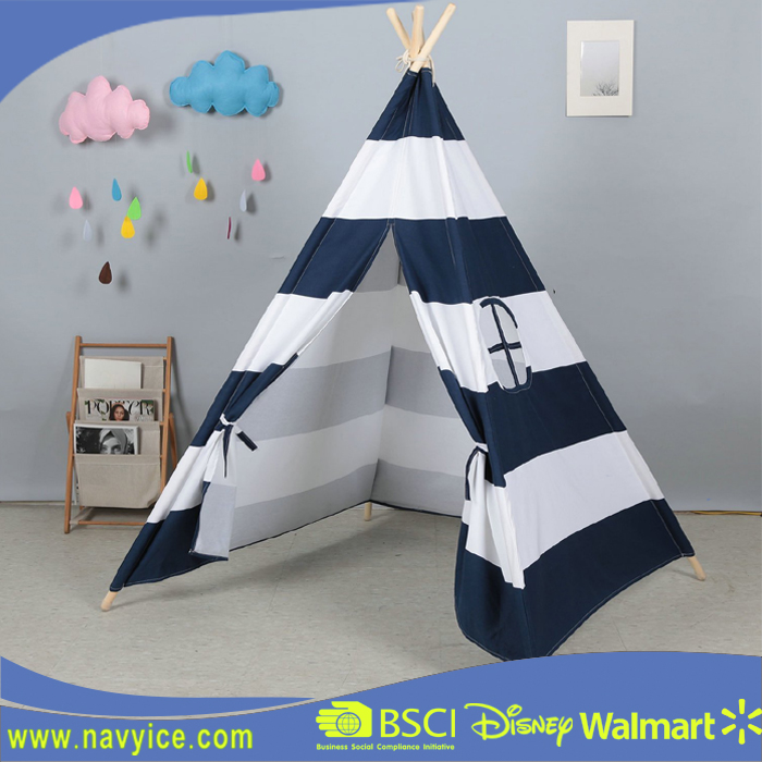 Customized Outdoor children kids play indian teepee tent Indoor classic Kids Teepee Play Tent Childrens Play House Tipi tent