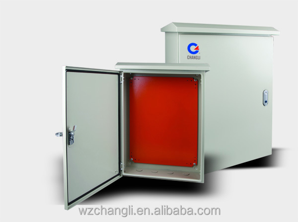 Waterproof Box/ metal distribution boards/metal electrical outdoor wall cabinet