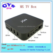 Dual Core 8GB Flash Internet Smart TV Box Android 4.2 IPTV set top box for global use AML8726-Mx dual core smart iptv box