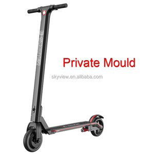 Private mould new design foldable folding electric scooter