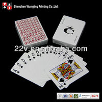 China Custom Game Playing Cards Factory Product Cigarette Poker