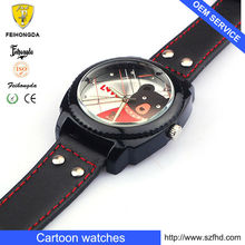 2013 Newest Kid silicone watch , safety battery and high quality