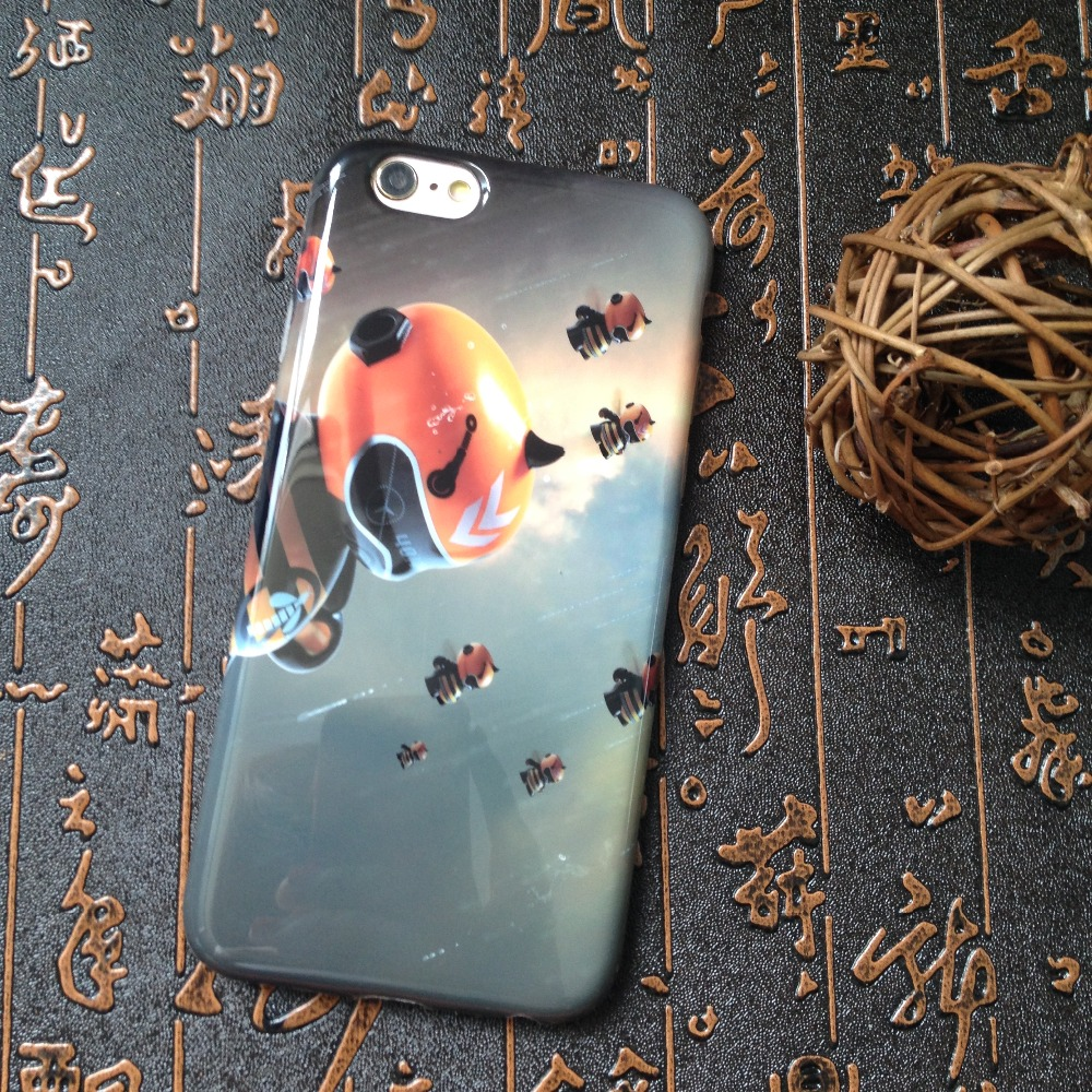 Cartoon robot mobile phone case for iphone 6 6s 6plus and printng mobile phone cover for Iphone case