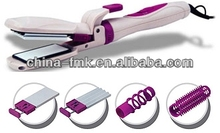 Professional tourmaline ceramic wave hair crimper