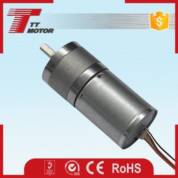 GM25-TEC2430 low rpm gear motor dc brushless 12v