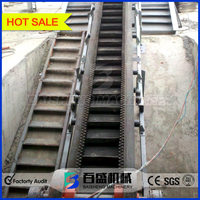 fertilizer high incline angle corn belt conveyor