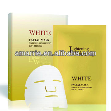 Q10 Collagen milk whitening facial mask on hot sale