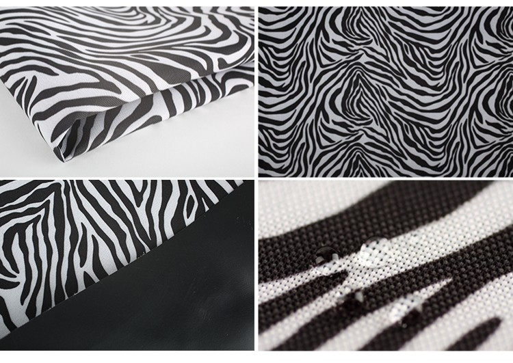 Fancy 600*600D fabric material sunproof fabric thick woven waterproof polyester fabric