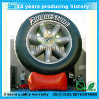 popular inflatable advertising tyre