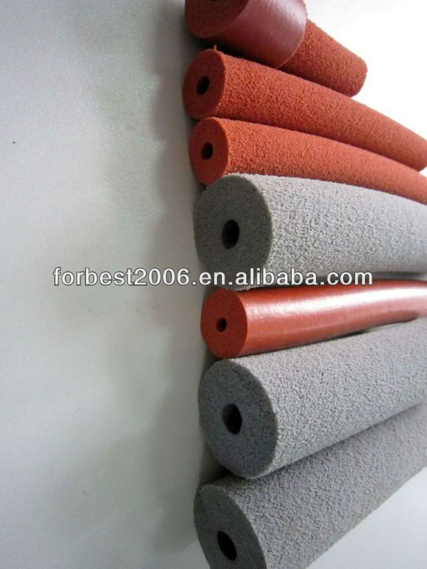 High Temperature Silicone Rubber Tube Sponge Sleeve for Protection of Industrial Wire
