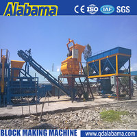 Low price rotary table cement brick machine