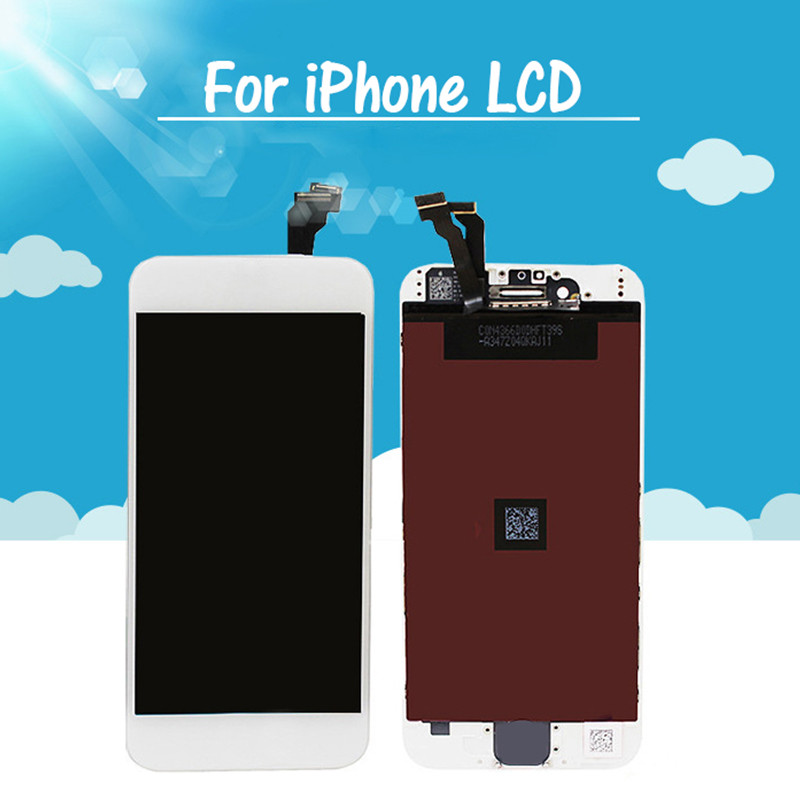 Wholesale price touch screen digitizer assembly for iphone 5s lcd screen , lcd display screen for iphone 6 display replacement