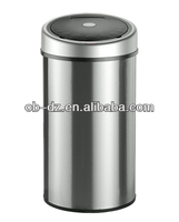outdoor metal garbage container