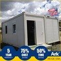 Ark Top Quality Good Price Long Lifespan Flatpack Prefabricated Steel Oil Field Changing Areas