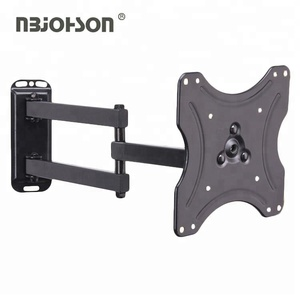 VESA 200x200mm Flat Panel Articulating 360 Degree TV Wall Mount Bracket , Full Motion TV mount