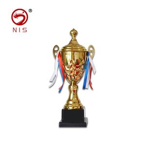 Unique design crystal sports old trophies gold plated award trophy