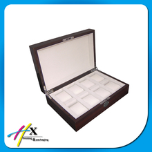 6 Pcs Watches Wooden Storage Case Packing Display Box for Wholesale