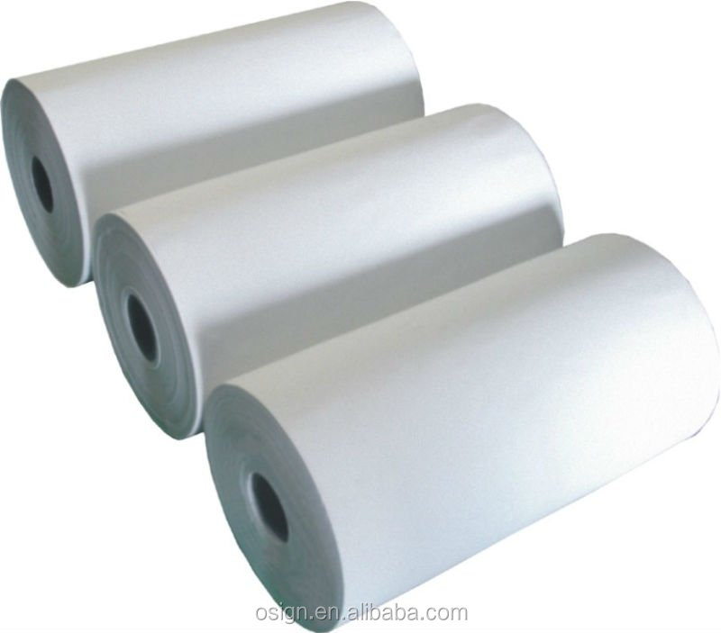 white color Self Adhesive PP Synthetic Paper (120g/140g/160g ,high quality )/synthetic paper