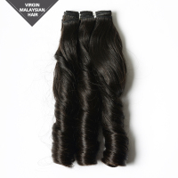 AAAAA Top Grade Raw Unprocessed Virgin Remy Malaysian Human Hair Natural Color 8-26 Inch Beyonce Wave Hair Extension