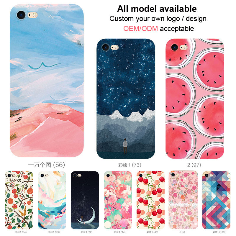 Wholesale TPU case design your own silicone phone case customized design mobile phone case for huawei y62 for samsung galaxy j3