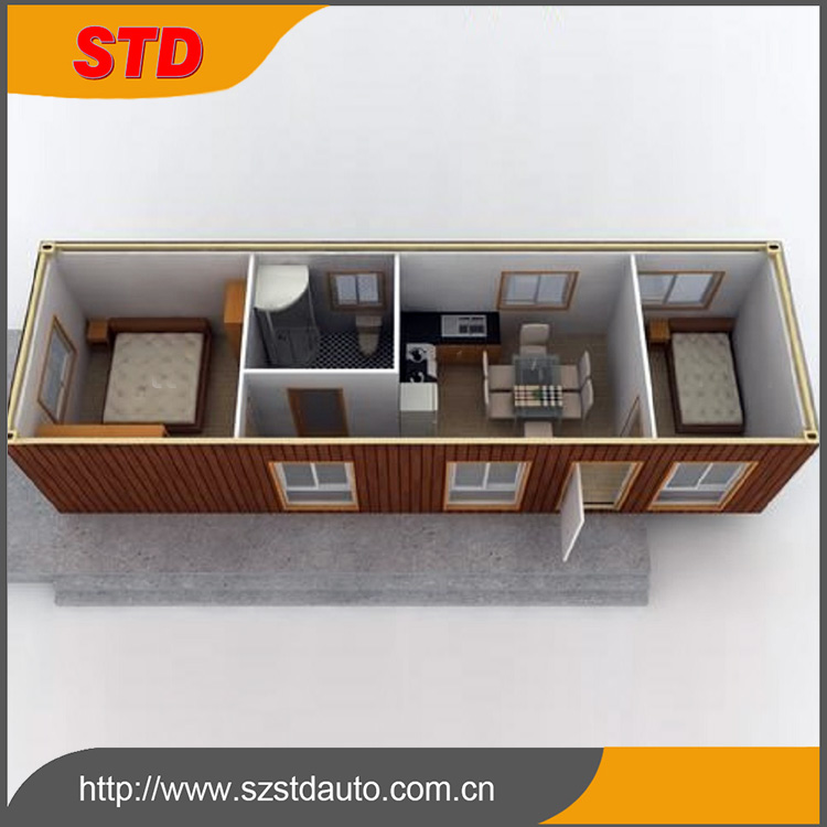 China customized 40ft ISO shipping container house