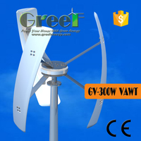 Roof-mounted vertical wind generator 12v 24V 48V vertical axis wind generator, domestic vertical axis wind generator