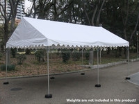 Japanese high quality alminum event tent with safety stopper for sale