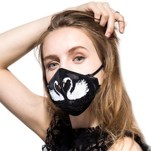 Mehow fashion washable face mask with design rubber animal masks respirator
