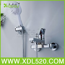 Brass bath&shower faucets with chrome