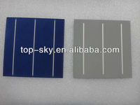Hot-selling high efficiency B Grade 6 inch Multi-crystalline silicon solar cells for solar module factory