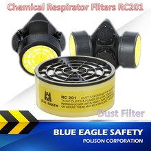 Blue Eagle Safety RC201 Dust Respirator Filters for NP305 and NP306 Chemical Mask