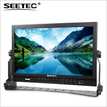 SEETEC 17.3'' full HD 1920*1080 Pro Broadcast 3G-SDI film camera professional monitor