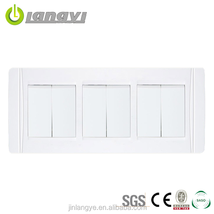 Best Price 6 Gang 2 Way Switch Europe Switch Manufacturer
