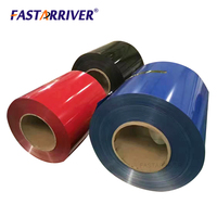 PE PVDF Color coated China factory price 0.006mm to 1mm thickness aluminum painting coil foil roll